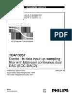 TDA1305t