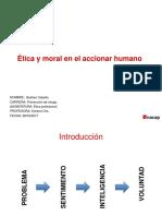 Etica y Moral en El Accionar Humano