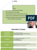 Rummler Performance Improvement