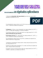 FISICA-Ejercicio Electrostática II