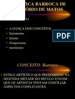 A POÉTICA BARROCA DE GREGÓRIO DE MATOS.ppt