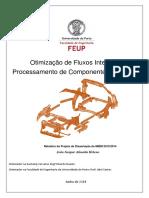 Otimizacao de Fluxos Internos No Processamento de Componentes Metalicos