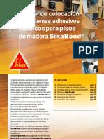 Manual de Colocacion Pisos de Madera Con Adhesivos