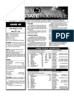 Penn State Week 5 Depth Chart