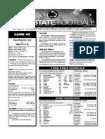 Penn State Week 5 Depth Chart