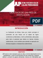 7. Objetivos de Una Red de Ventilacion