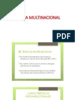 Banca Multinacional