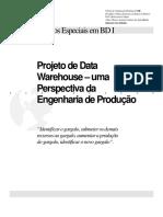 Projeto de Data Warehouse - Uma Perspectiva Da Engenharia de Produção