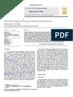 Martin-Crack Initiation Stress in Low Porosity Crystalline and Sedimentary Rocks