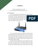 Konfigurasi IP Kelas a, B Dan C