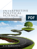 R.a.W. Rhodes - Interpretive Political Science_ Selected Essays, Volume II (2017, Oxford University Press)
