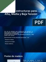 1. Tipos de Estructuras Para Alta Media y Alta Tension JUNIO 2018