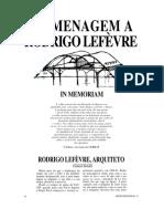 06 Homenagem a Rodrigo Lefevre
