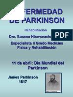 Rehabilitación en la Enfermedad de Parkinson