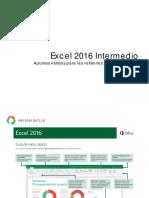 Intermedio Curso Excel