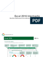 Intermedio Curso Excel