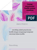 Strategi penyelesaian konflik smoothing KEL 4.pptx
