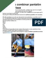 Ideas Para Combinar Pantalón Color Mostaza
