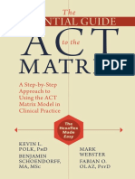 ++++Polk, Shoendorff,  Webster y Olaz (2016) The essential guide for ACT Matrix