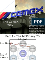 Cemex SIBM Pune Case Analysis