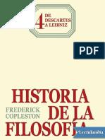 De Descartes a Leibniz - Copleston Frederick