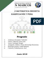 Informe de Matemática Discreta - Ramificacion y Poda