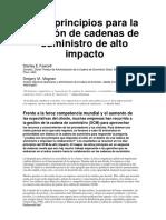 Supply Chain Management (Español)