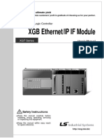 Xgb (Xbl-eipt) Ethernet Ip Users Manual v1.0
