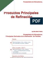 Productos principales de la refinacion