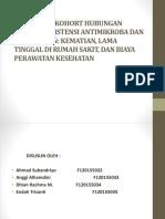 Penelitian Kohort Hubungan Antara Resistensi Antimikroba Dan Hasil