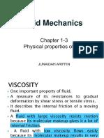 Ecw422 Chapter 1-3 Fluid Properties Wk 3