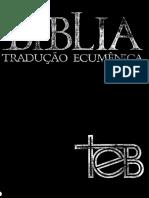 Bíblia de Estudo Ecumenica -Completa