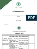 Plan Operativo Anual 2014 Vmj