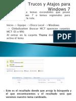Trucos y Atajos Para Windows 7