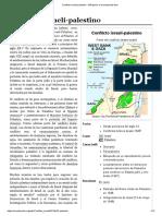 Conflicto Israelí-palestino - Wikipedia, La Enciclopedia Libre