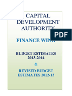 Budget 1314
