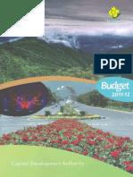 Budget 1112