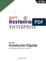 Guía de. Instalación Rápida Soft Restaurant Enterprise Versión 8.0. Nationalsoft.com.Mx