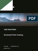 1300 Maxtrak Illustrated Parts Catalog - MASTER COPY