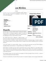 Enrique Pichon Rivière – Wikipédia, A Enciclopédia Livre