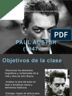 Paul Auster ppt