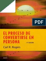 El Proceso de Convertirse en Pe - Carl R. Rogers