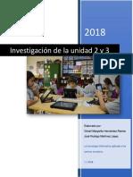 Investigacion Unidad 2 y 3