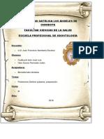 PROTECTORES DENTINO PULPARES