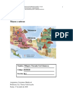 2018-I - Literatura Latinoamericana I - InFORME 1- Mayas y Aztecas