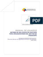 Manual de Usuario Sistema de Hallazgos EPS