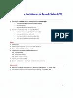 I-2018 - Introducción a Los Sistemas de Entrada-Salida (I-O)