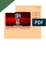 Programación Mundial de Futbol Rusia 2018