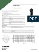 Pga181 Specification Sheet English