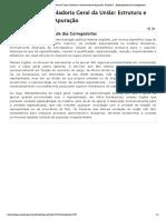 Módulo I - Controladoria Geral da União_ Estrutura e Instrumentos de Apuração_ Unidade 3 - Especificidade das Corregedorias